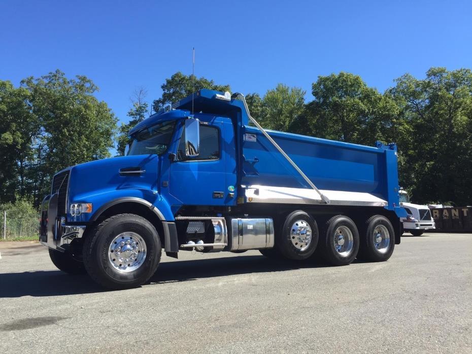 2017 Volvo Vhd84f200  Dump Truck
