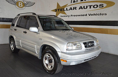 1999 Suzuki Grand Vitara 4dr JS+ Automatic 2WD 1 OWNER 55K CLEAN CARFAX SERVICED NATIONWIDE WARRANTY FREE SHIPPING IN US MINT