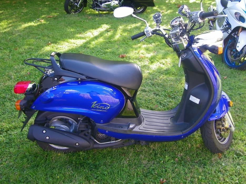 yamaha vino 125 motorcycles for sale in ohio. Black Bedroom Furniture Sets. Home Design Ideas