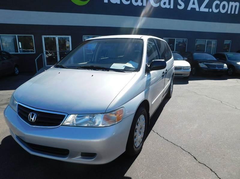 2002 Honda Odyssey LX 4dr Mini Van