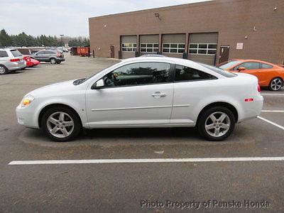 2009 Chevrolet Cobalt 2dr Coupe LT w/1LT 2dr Coupe LT w/1LT Automatic Gasoline 2.2L 4 Cyl WHITE