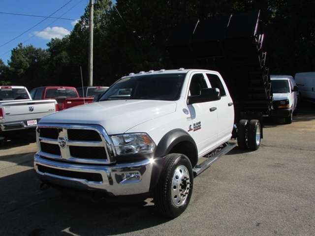 2015 Dodge Ram 5500 Hd Dump Body Dump Truck