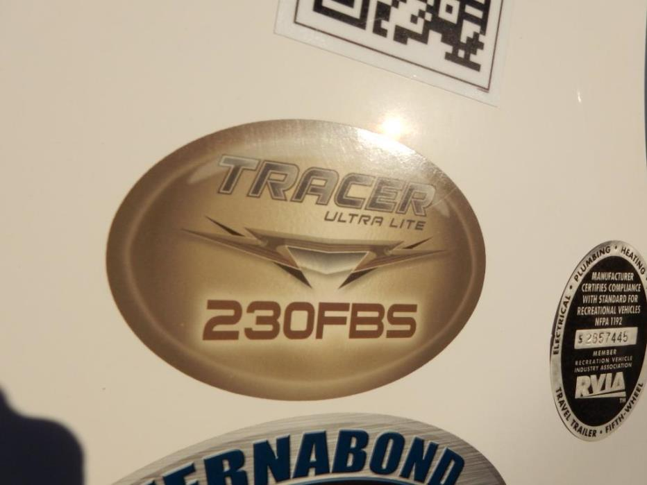 2012 Prime Time Tracer 230FBS