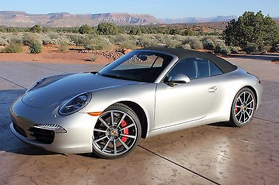 2013 Porsche 911 Carrera S Convertible 2-Door *Certified Pre Owned* Less than 5000 Mi PDK Auto* Absolutely Flawless Example*