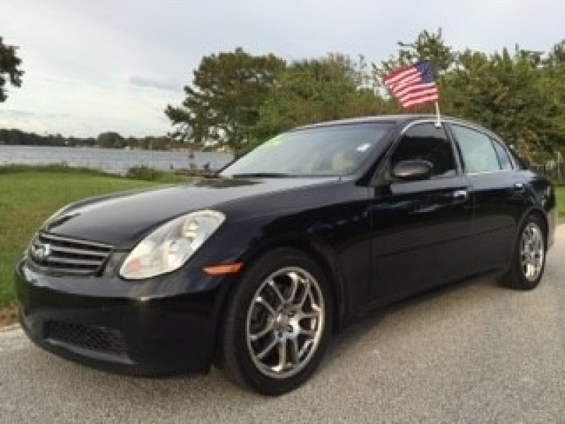infiniti g35 sedan 2005 cars for sale. Black Bedroom Furniture Sets. Home Design Ideas