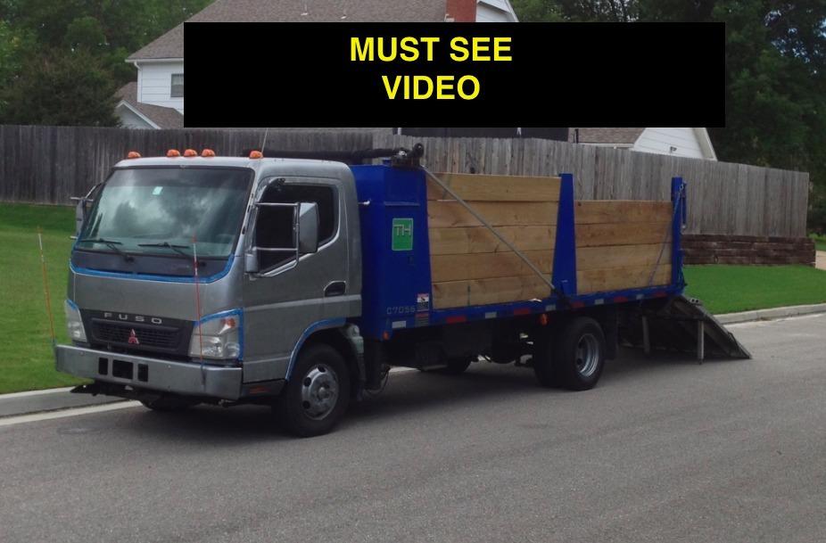 2005 Mitsubishi Fuso Fe84d  Dump Truck