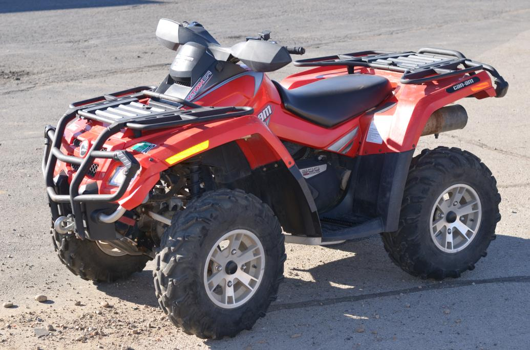 2008 Can-Am Outlander Max 800 EFI XT 4x4