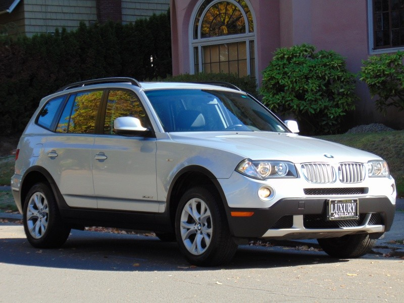 2010 X3 xDRIVE 30i PREMIUM PKG PANO MOON ROOF 1-OWNER LOW MILES 78K SERVICED