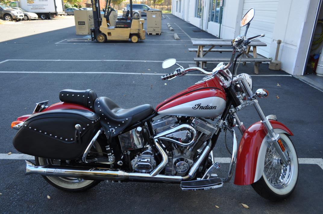 2014 Indian Chieftain Indian Motorcycle Red