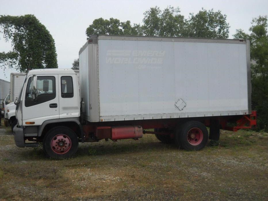 1998 Gmc T7500 Box Truck - Straight Truck