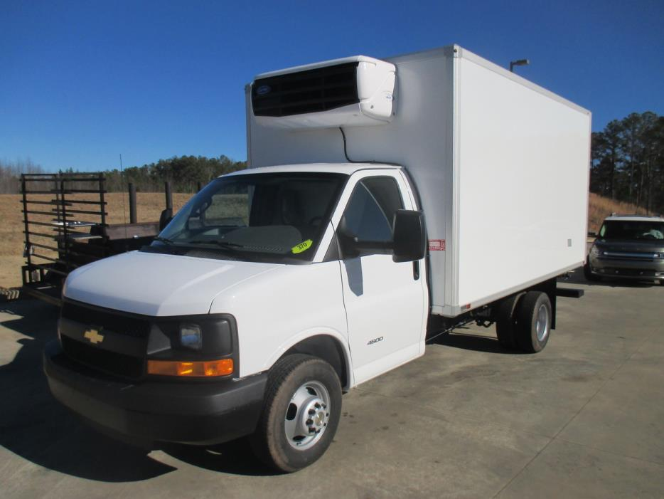 2016 Chevrolet 4500 Refrigerated Truck