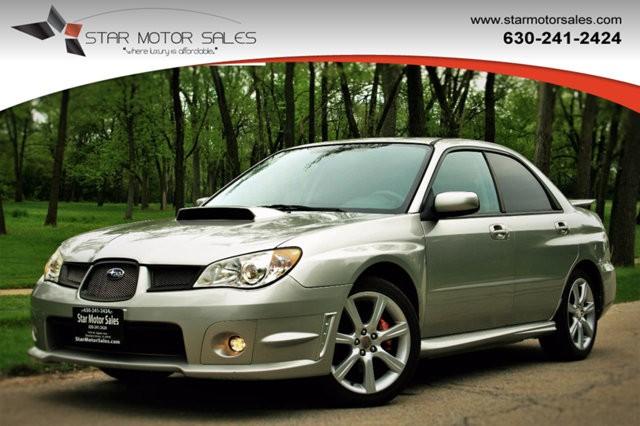 2007 Subaru Impreza Sedan 4dr H4 Turbo Automatic WRX Ltd Black Int