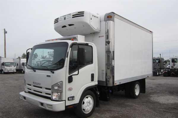 2011 Isuzu Nrr  Refrigerated Truck