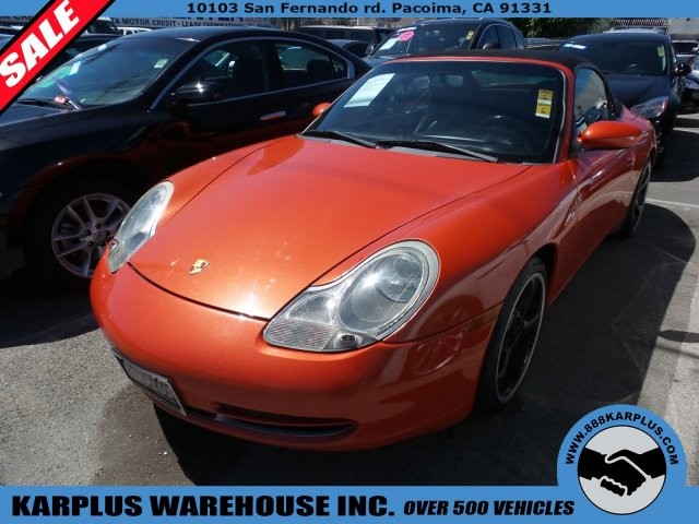 2001 Porsche 911 Carrera 2dr Carrera Cabriolet 6-Spd Manual