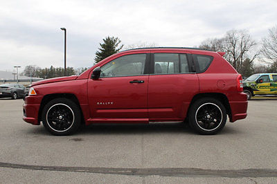 2009 Jeep Compass 4WD 4dr Sport 4WD 4dr Sport SUV Manual Gasoline 2.4L 4 Cyl RED