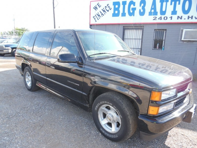 2000 Chevrolet Tahoe 4dr Limited