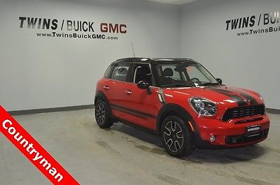 2012 Mini Countryman Base 2012 Mini Cooper S Countryman Base 66,548 Miles Pure Red 4D Sport Utility 1.6L I