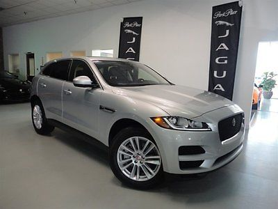 2017 Jaguar Other  2017 F-Pace 35t Prestige Satellite Radio 19 inch Wheels Panoramic Roof Bluetooth