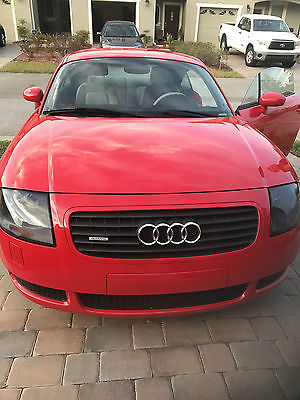 2002 Audi TT ALMS Edition Coupe 2-Door 2002 Audi TT Quattro ALMS Edition Coupe 2-Door 1.8L