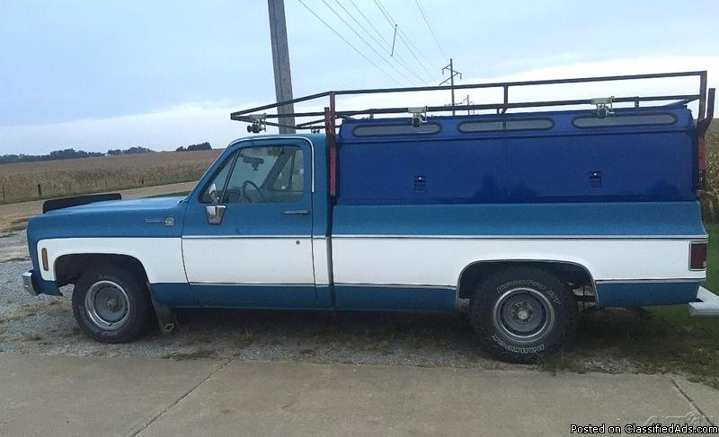 1978 Chevrolet Scottsdale 1/2 Ton Pickup For Sale in Donahue, Iowa  52746