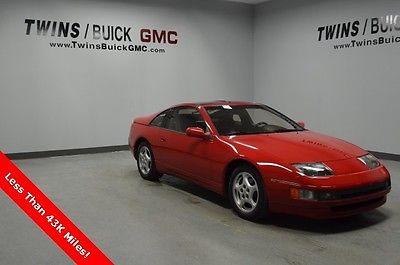 1990 Nissan 300ZX GS 1990 Nissan 300ZX GS 42,498 Miles 2D Hatchback 3.0L V6 FI 5-Speed Manual