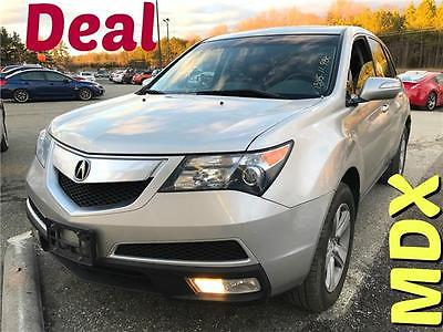 2011 Acura MDX Tech Pkg ilver  5-Speed A/T V6 Cylinder Engine 3.7L/224 Call Mark 301-503-5309