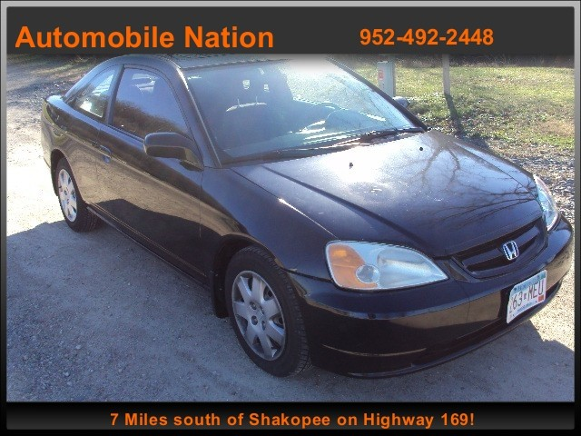 2001 Honda Civic 2dr Cpe EX Auto w/Side Airbags