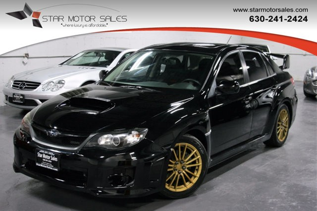 2012 Subaru Impreza Sedan WRX 4dr Manual WRX Premium