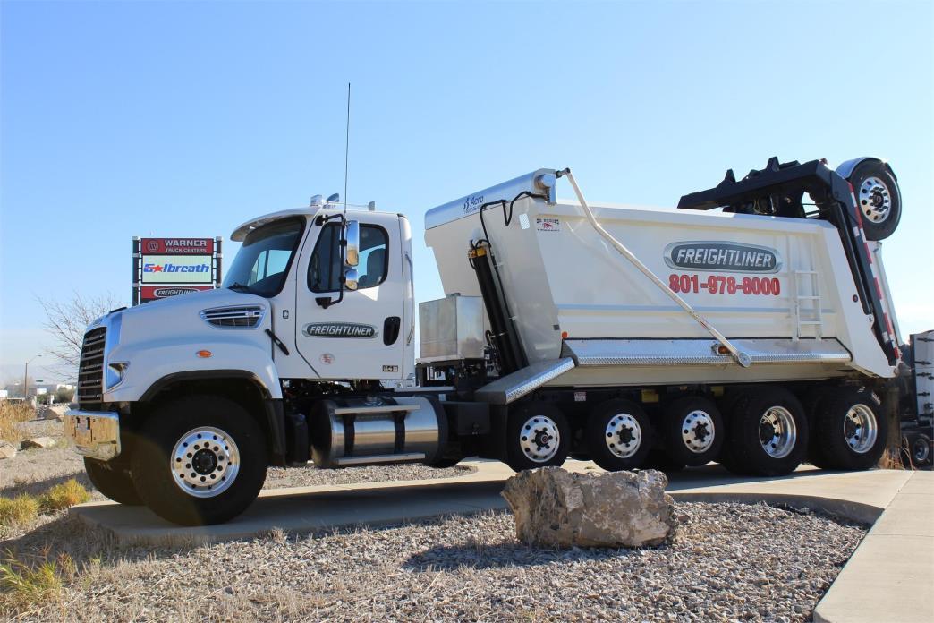 2017 Freightliner 114sd Dump Truck