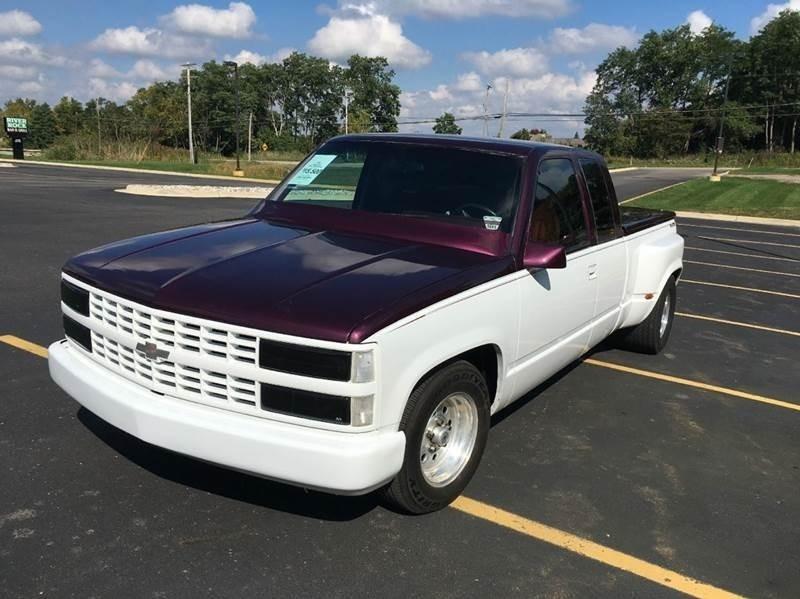 1993 Chevrolet C/K 1500 Series C1500 Silverado 2dr Extended Cab LB