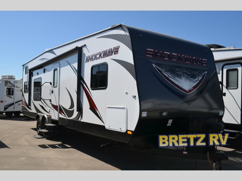 2017 Forest River Shockwave T28FQDX