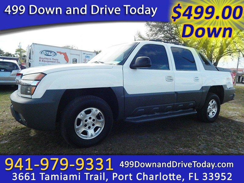 2002 Chevrolet Avalanche 1500 5dr Crew Cab 130 WB 4WD