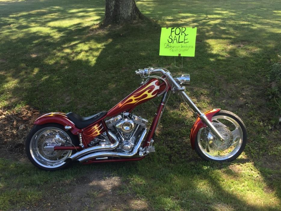 american ironhorse chopper motorcycles for sale in ohio. Black Bedroom Furniture Sets. Home Design Ideas