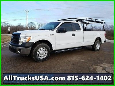 2013 Ford F-150 2013 5.0L GAS CREW CAB LONG BED PICKUP TRUCK 53k 2013 F150 5.0L V8 GAS CREW CAB LONG BED PICKUP TRUCK LADDER RACK 53K MILES