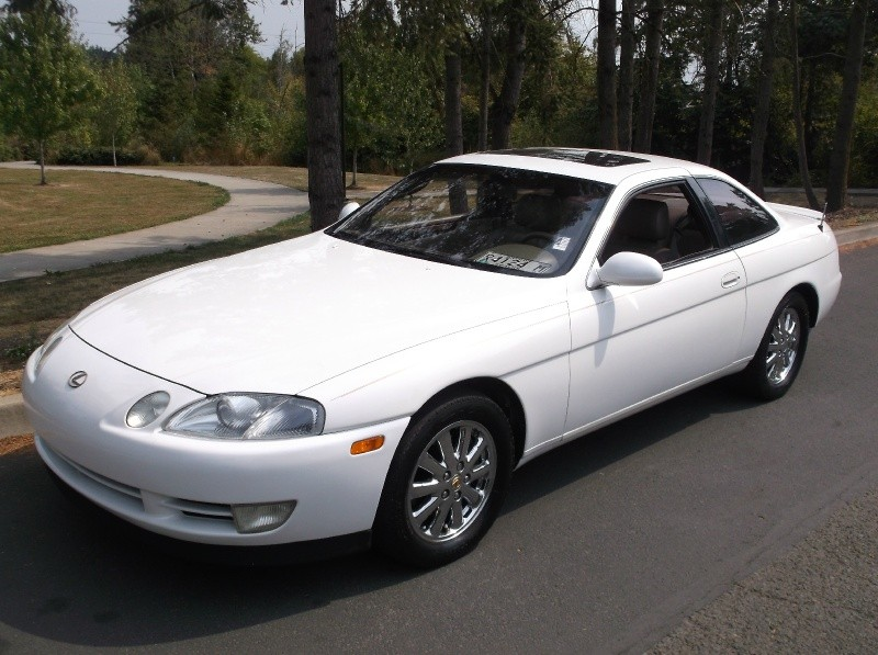 1992 Lexus SC 400 Coupe Auto *WHITE* Runs Great Must See !!