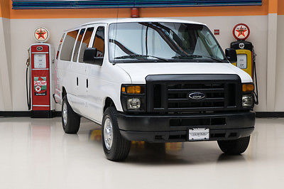 2011 Ford E-Series Wagon  2011 White XL PROPANE CONVERSION!