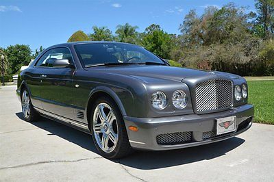 2009 Bentley Brooklands -- 2009 Bentley Brooklands Grey 2dr Car 8 Cylinder Engine 6.8L/413 6-Speed A/T