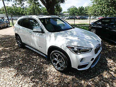 2017 BMW X1 xDrive28i Sports Activity Vehicle xDrive28i Sports Activity Vehicle 4 dr Manual Gasoline 2.0L 4 Cyl Alpine White