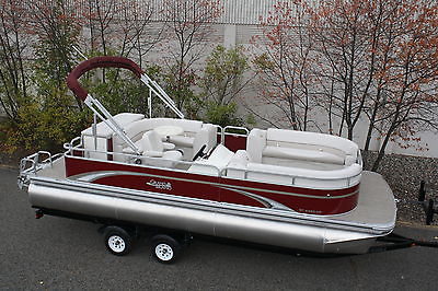 New high end 24 ft pontoon boat----Spring boat show special