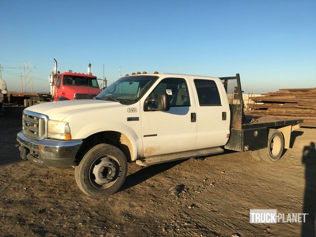 2000 Ford F-450 Xlt Super Duty  Flatbed Truck