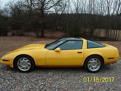 1996 Chevrolet Corvette Standard 1996 Chevrolet Corvette LT 4