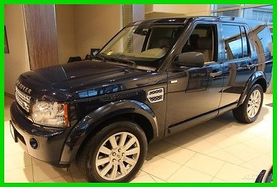 2012 Land Rover LR4 LUX 2012 LUX Used 5L V8 32V Automatic AWD SUV Premium