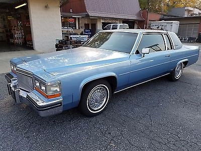 1980 Cadillac DeVille Low Mileage 1980 Cadillac Coupe DeVille One Owner