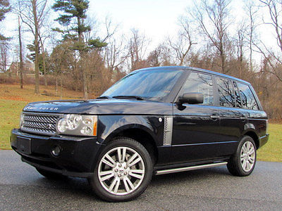 2009 Land Rover Range Rover 4WD 4dr SC UPERCHARGED BLUE REAR ENTERTAINMENT NAVIGATION SC RANGE ROVER 2009 LAND ROVER