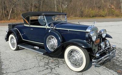 1931 Buick Series 90 1931 Buick 8 Model 94 Sport Roadster