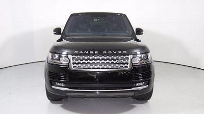 2015 Land Rover Range Rover 4WD 4dr Supercharged LWB 2015 Range Rover LWB V8 S/C, Blk/Blk, Low Miles, 1 Owner, $117K MSRP when new!!!