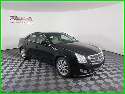 2009 Cadillac CTS Base AWD V6 Sedan Navigation Panoramic Sunroof 91522 Miles 2009 Cadillac CTS AWD Sedan Heated Cooled Leather Seats Bluetooth