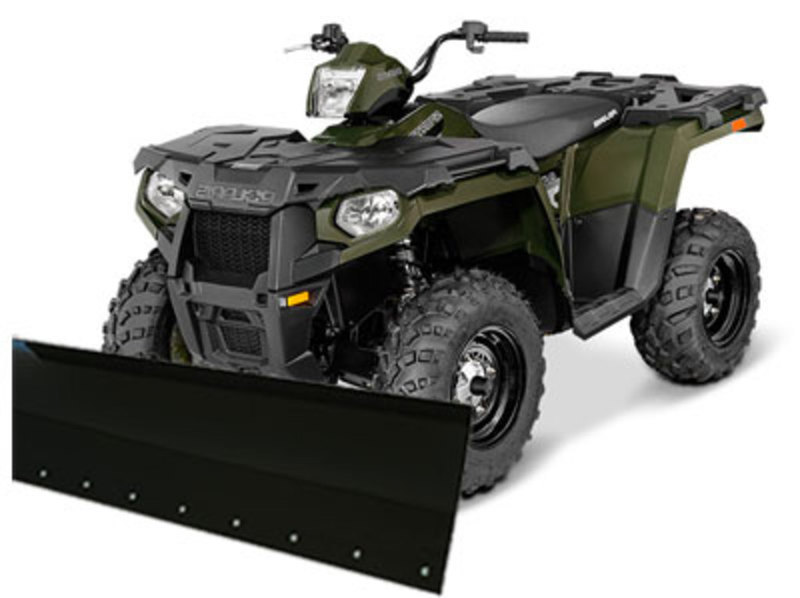 2016 Polaris Sportsman 450 with Snow Plow