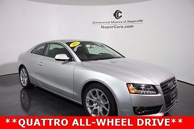 2012 Audi A5 2.0T Premium Plus 2012 Audi A5 2.0T Premium Plus 74,098 Miles Ice Silver Metallic 2D Coupe 2.0L 4-