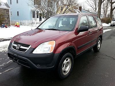 2002 Honda CR-V LX 2003 Honda CR-V  4WD - Automatic.